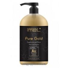 Шампунь питательный для всех типов волос IMEL PURE GOLD – 1000 МЛ.