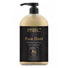 Кондиционер питательный для всех типов волос IMEL PURE GOLD – 1000 МЛ.