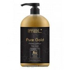 Маска питательная для всех типов волос IMEL PURE GOLD - 1000 мл.