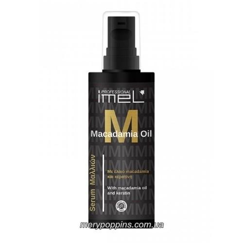 Сыворотка для окрашенных и поврежденных волос Imel Macadamia Oil – 125 мл.