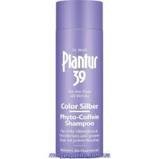 Шампунь тонирующий для седеющих и тусклых волос, против выпадения Plantur 39 Color Silver - 250 мл.