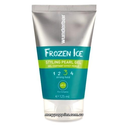 Гель сильной фиксации с жемчужным блеском WB Frozen Ice - 125 мл.